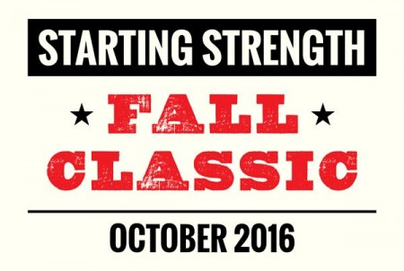 starting strength fall classic 2016 logo